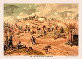 Battle of Allatoona Pass Art Print