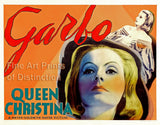Queen Christina Movie Poster starring Greta Garbo