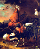 Rooster attr to Jan van Oolen