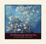 Blossoming Almond Tree by Vincent Van Gogh premium poster