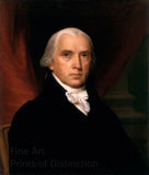 Official White House Portrait of James Madison by John Vanderlyn