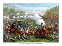 Civil War Battle of Opequon Creek or Winchester