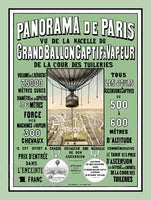 Panorama De Paris Hot Air Balloon Rides