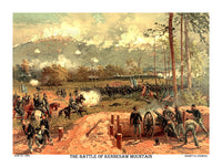 Civil War Battle of Kennesaw Mountain fought June 27, 1864