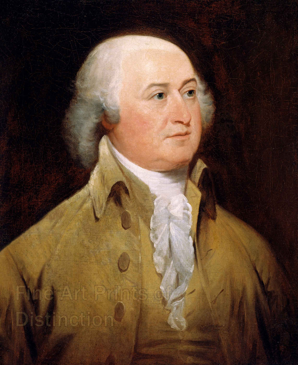 1793 Portrait of John Adams by John Trumbull