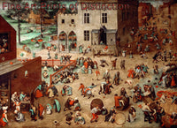 Children's Games by Pieter Breugel the Elder