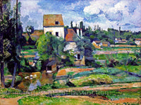 Cezanne Paul - Mill on the Couleuvre at Pointoise Fine Art Print