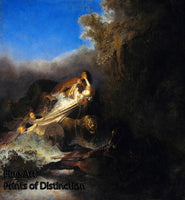 The Abduction of Proserpina by Rembrandt Art Print