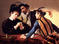 The Cardsharp by Caravaggio
