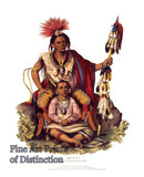 Keokuk - Indian Chief of the Sauk and Foxes