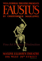 Faustus by Christopher Marlowe Theatre Poster