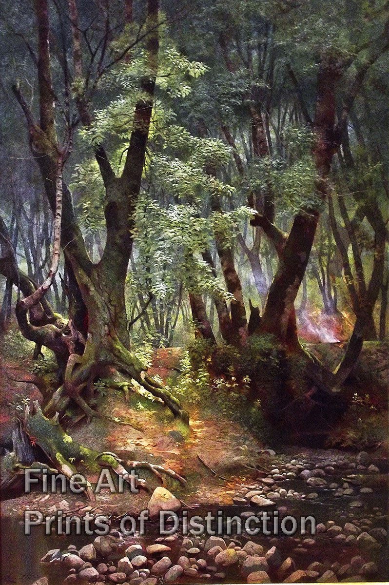 Strawberry Creek by Edwin Deakin