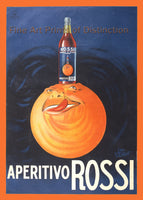 Apertivo Rossi with Orange Advertisement