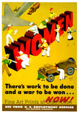 WWII Poster Women There is Work to be Done