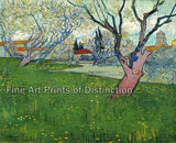 View of Arles with Trees in Bloom by Vincent Van Gogh