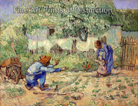First Steps after Millet by Vincent Van Gogh