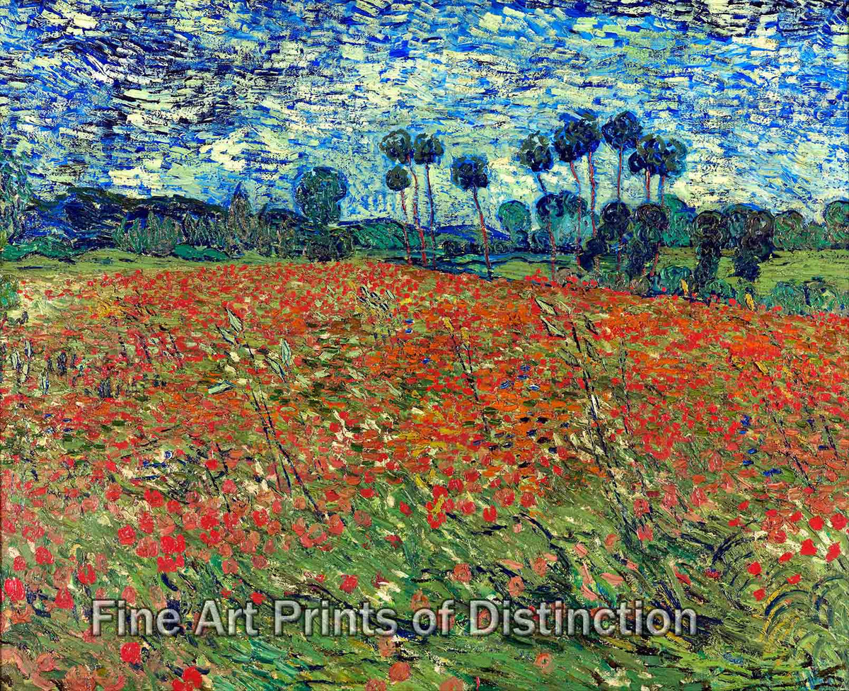 Poppy Fields by Vincent Van Gogh