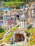 Ave Maria Grotto City Built in the Mountainside Art Print