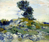 The Rocks by Vincent Van Gogh Art Print
