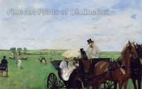 At the Races in the Country by Edgar Degas