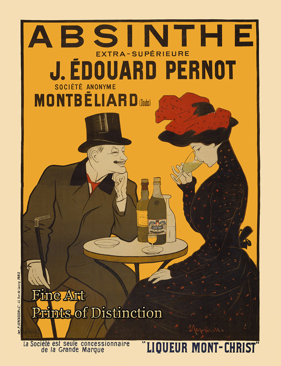 Absinthe French Advertising Poster