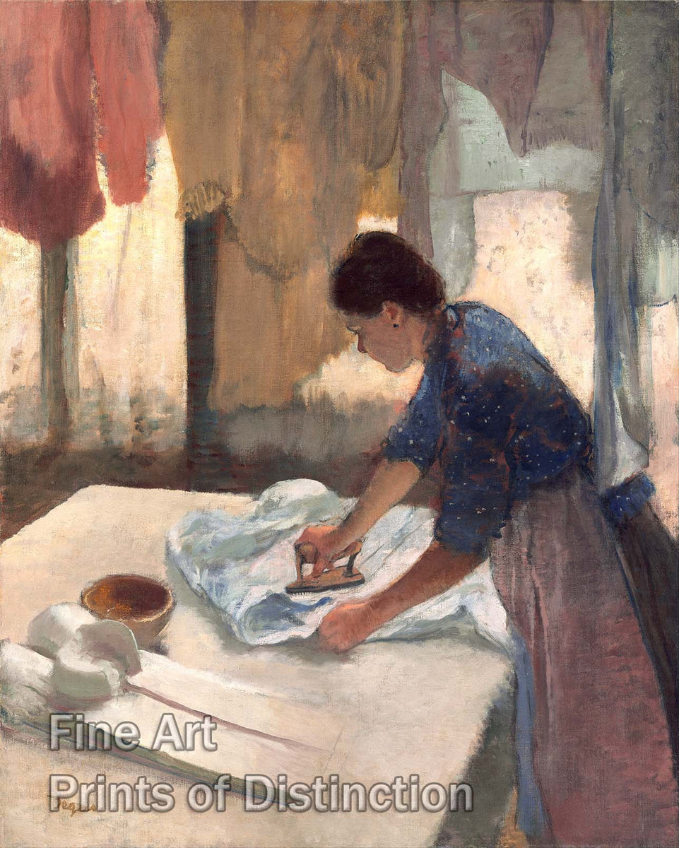 Woman Ironing by Edgar Degas