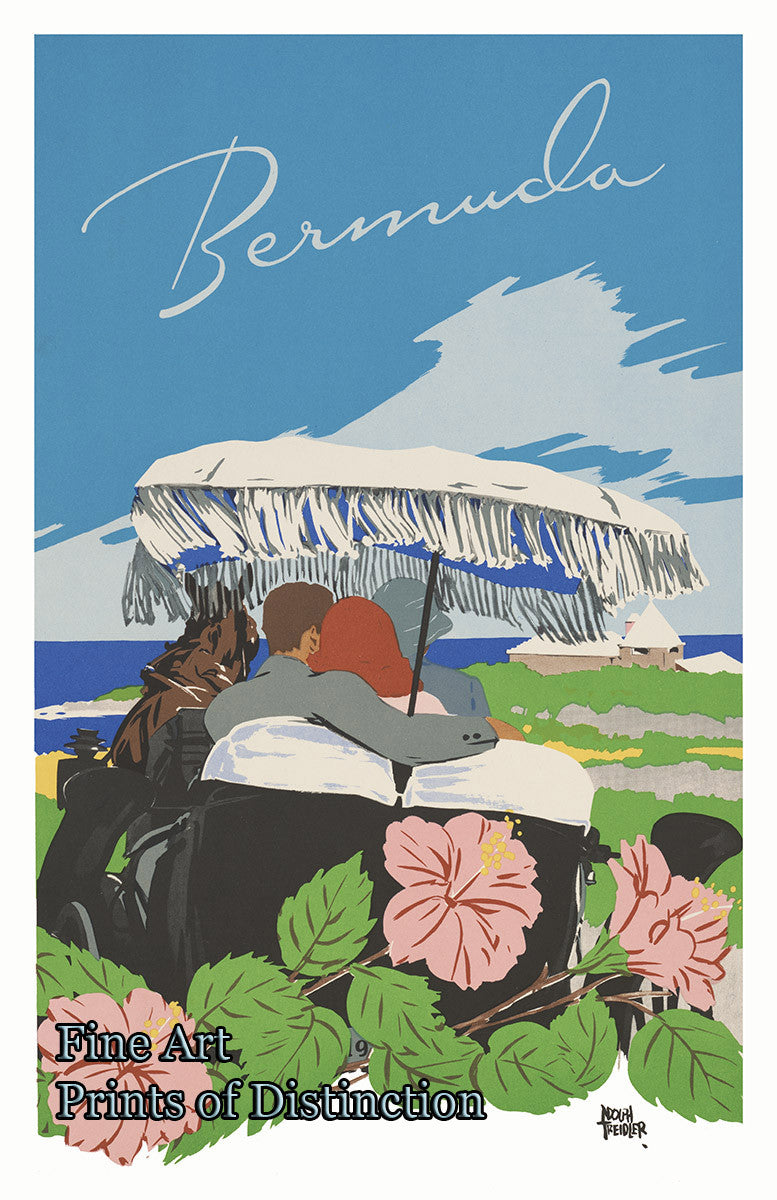 Bermuda Travel Poster Art Print