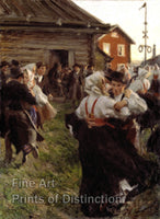 Midsummer Dance by Anders Zorn