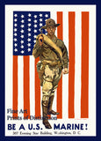 World War I Poster - Be a US Marine