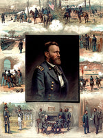 General Ulysses S. Grant and his career from West Point to Appomattox