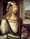 Self Portrait in 1498 by Albrecht Durer
