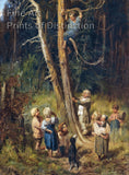 Children Raiding Nests in the Forest by Viktor M. Vasnetsov