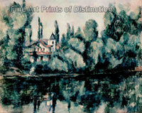 Banks of the Marne by Paul Cezanne