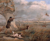 Duck Shooting by Henry Thomas Alken