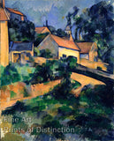 Turning Road at Montgeroult by Paul Cezanne