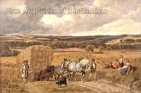 The Harvest by John Frederick Herring