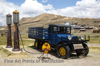 1927 Dodge Graham Truck at Bodie Ghost Town Art Print