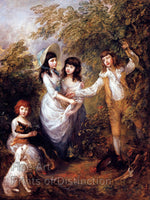 The Marsham Children by Thomas Gainesborough