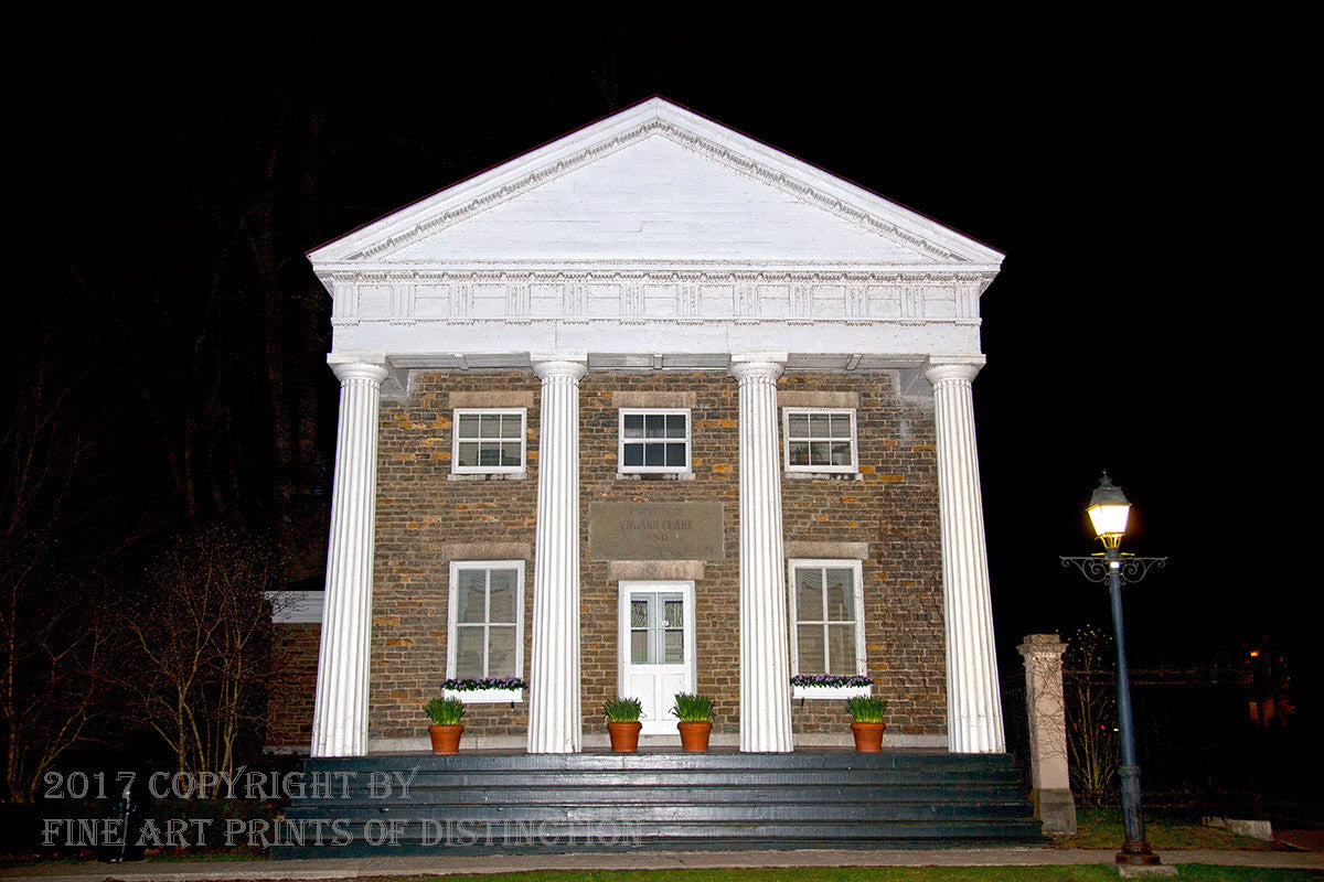 Cooperstown Otsego County Bank Art Print