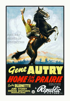 1939 movie poster Home on the Prairie Art Print
