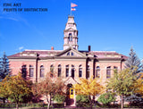 Pitkin County Courthouse in Aspen Colorado art print