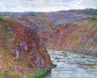 Valley of the Creuse Gray Day by Claude Monet