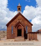 Methodist Church in the Bodie Hills, California Ghost Town
