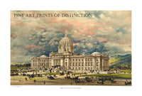 Proposed Montana State Capitol Building art print