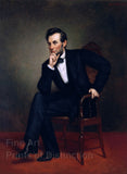 President Abraham Lincoln by George Peter Healy