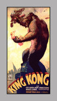 1933 King Kong Movie Poster Art Print