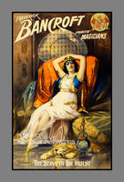 1895 Frederick Bancroft Magician's Poster entitled Slave of the Orient Art Print
