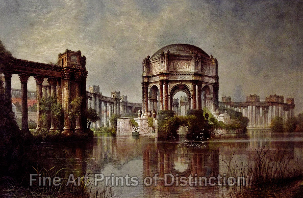 The Palace of Fine Arts by Edwin Deakin