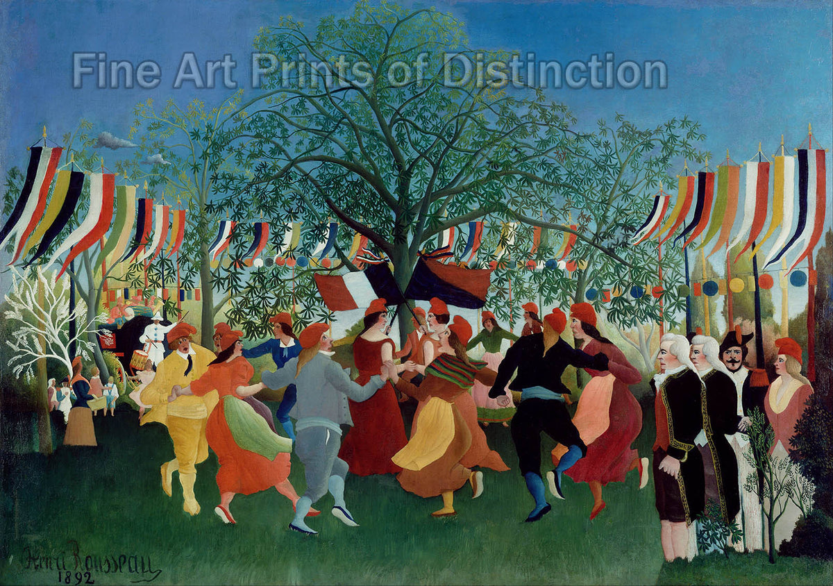 A Centenary of Independence by Henri Rousseau
