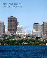 Boston, Massachusetts from the Charles River Art Print